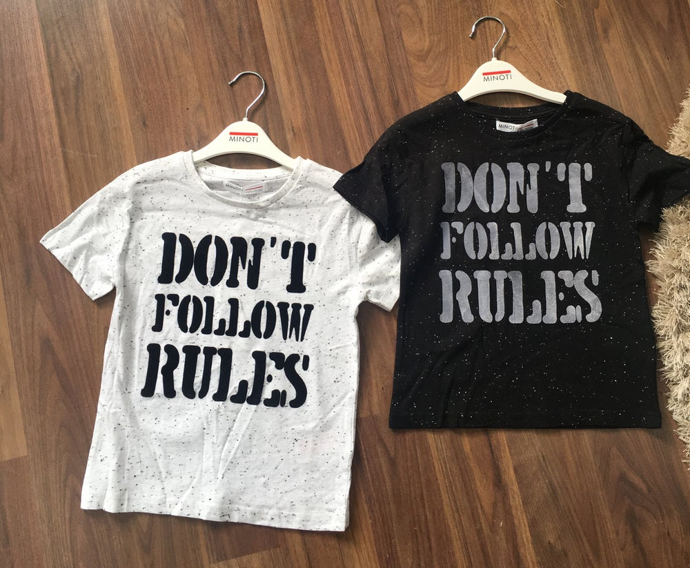 Image of Boys Don't follow rules t shirt