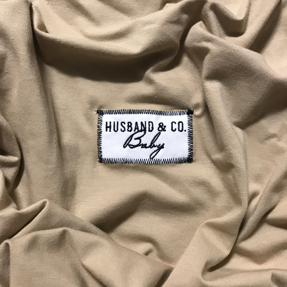 Image of Sand H&C Baby wrap