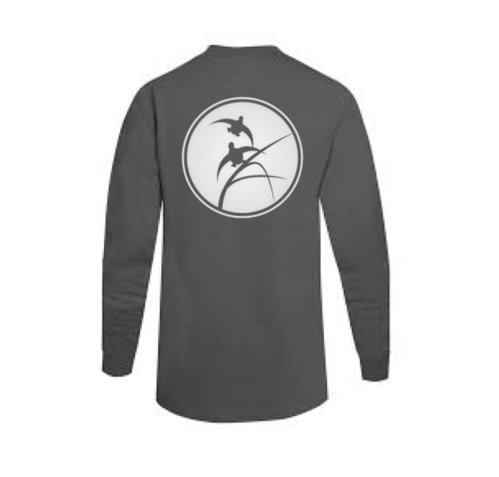Image of Smoke Gray Habitat Flats Long Sleeve Tee