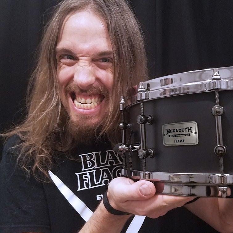 Image of Dirk Verbeuren Ltd Ed Signature Snare Drum - 30 Only
