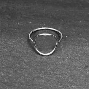 Image of Big pi ring 925 silver