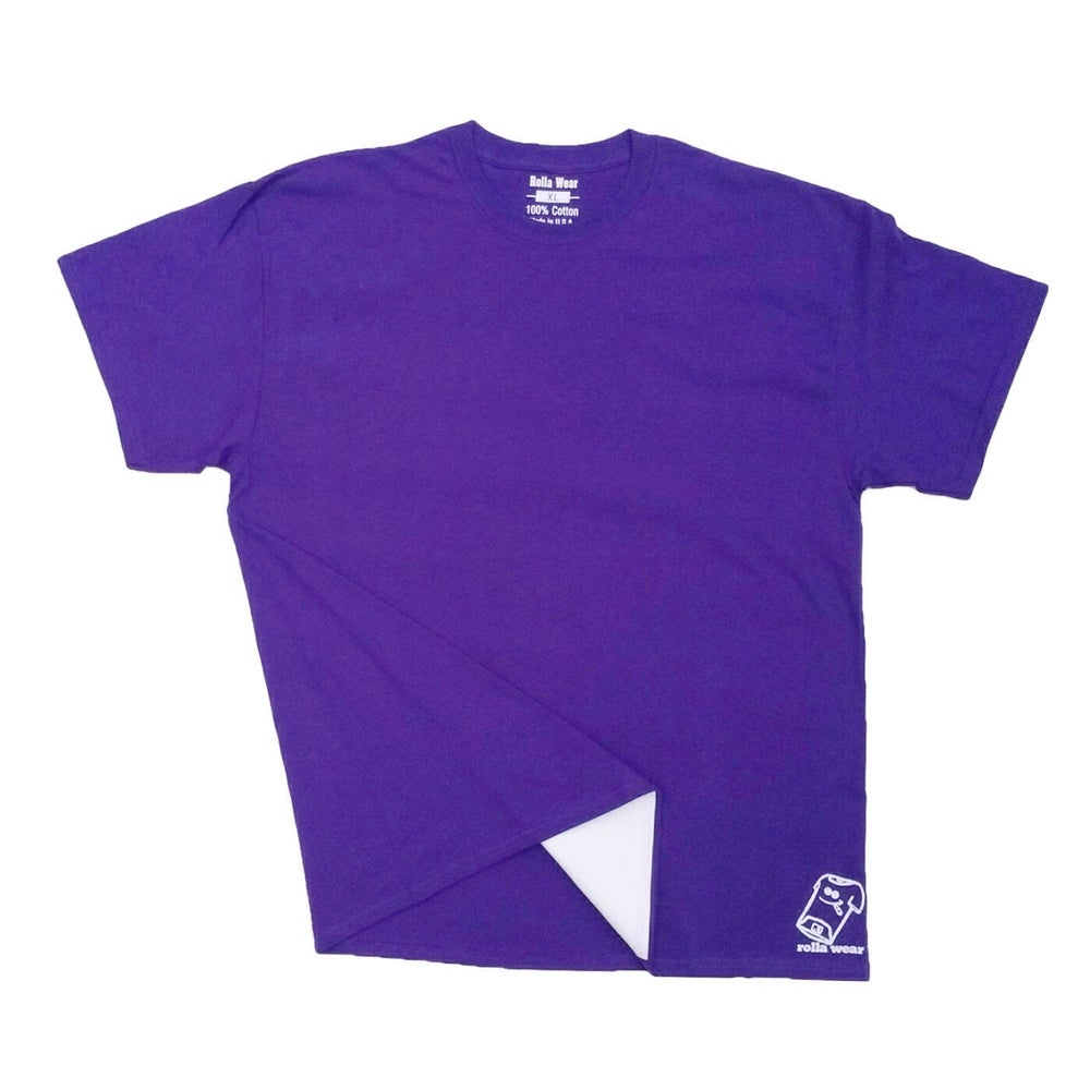 Image of Purple Rolla Wear T-shirt