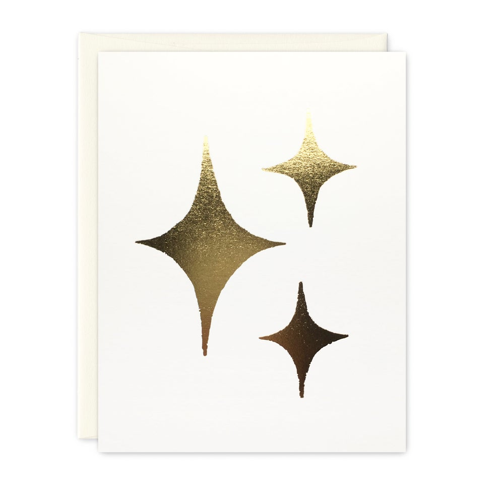 Image of stars card