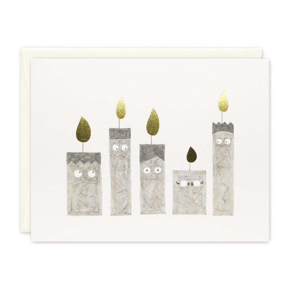 Image of Happy candles card