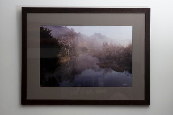 """Image of Sweet Lace of Dawn, 16x24"""" Framed Print"""