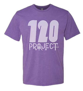 Image of Purple Rush 120 Project Shirt