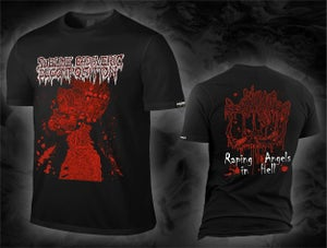 Image of Sublime Cadaveric Decomposition - Raping Angels in Hell (2017) - T-Shirt (RAH)