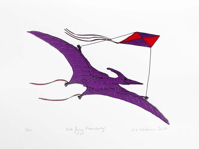 Image of Kite flying Pterodactyl