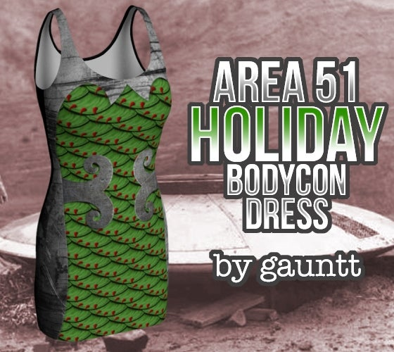 Image of Area 51 Holiday Party Dress