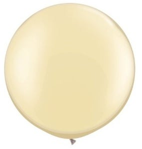 Image of Giant Round Balloons - Pearl Ivory