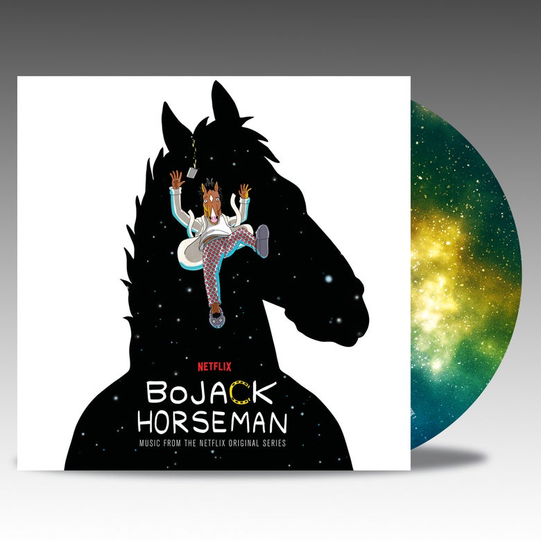 Image of BoJack Horseman (Music From The Netflix Original Series) 'Picture Disc' - Various Artists PRE ORDER