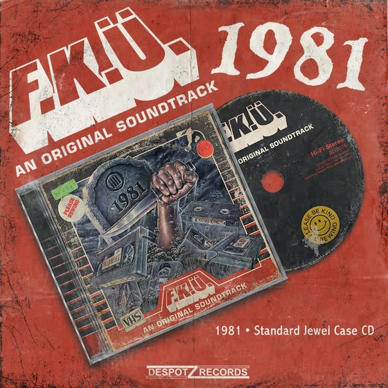 Image of F.K.Ü. - 1981 CD (Jewel Case CD)