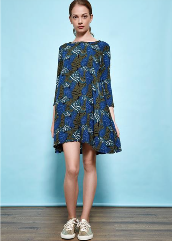 Image of Robe JOELLE vegetal 129€ -50%