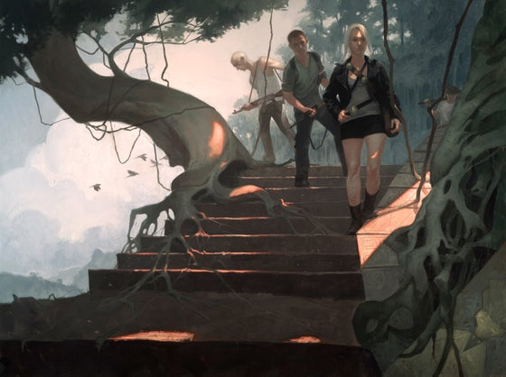 Image of Expedition (Ivory Leads the Expedition Into the Ruins)