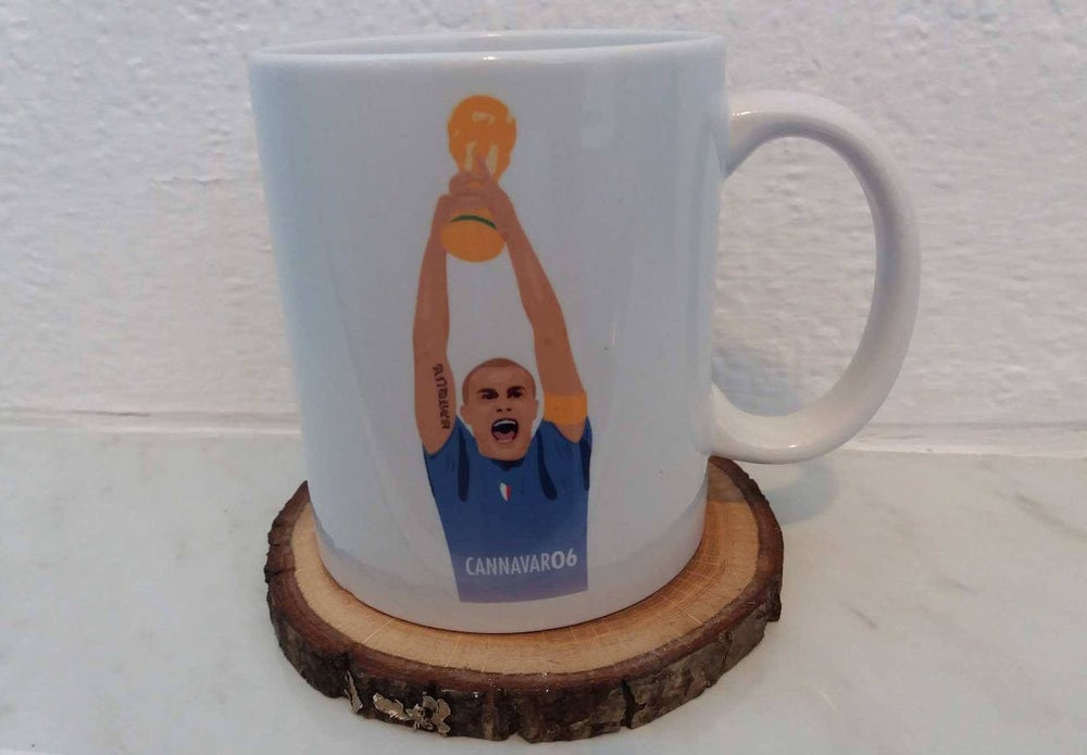 Image of Fabio Cannavaro World Cup 2006 Italy Mug