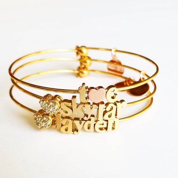 Image of Build Your Bangle -As seen on Kourtney Kardashian App- & Tracy