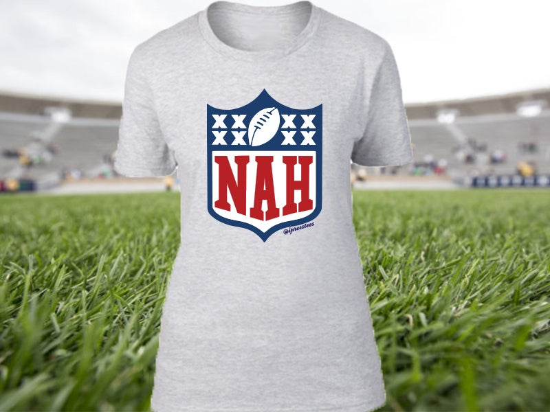 Image of Nah Football Ladies tee