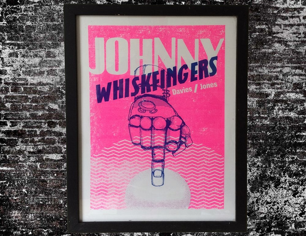 Image of Johnny Whiskfingers poster