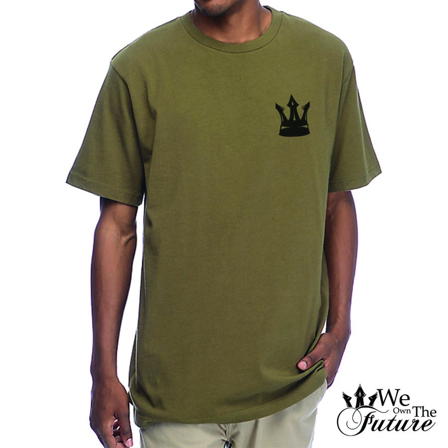Image of Olive Rep YVR tee