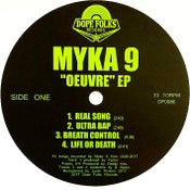 "Image of MYKA 9 ""OEUVRE"" EP PRE-ORDER"