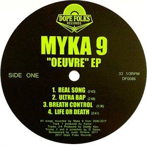 """Image of MYKA 9 """"OEUVRE"""" EP"""