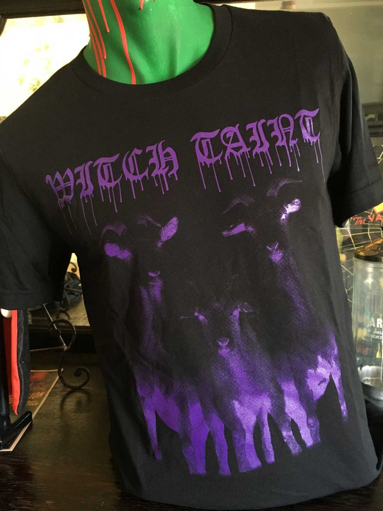 """Image of Witch Taint """"Goats To Hell"""" T-Shirt and Tanks"""