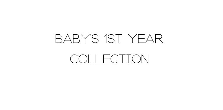 Image of BABY'S 1ST YEAR COLLECTION