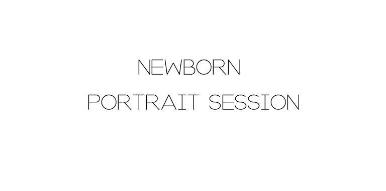 Image of NEWBORN PORTRAIT SESSION