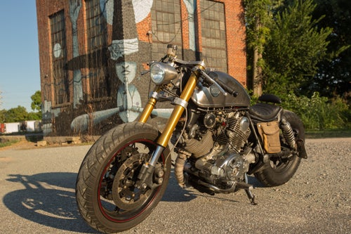 Image of Custom Built Classified Moto Motorcycle