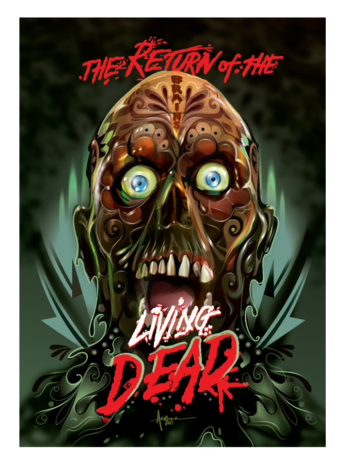 """Image of The Return Of The Living Dead - 18""""x24"""" - Edition of 15 - 2017"""