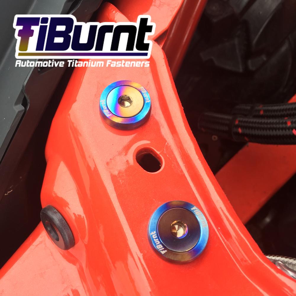 Image of Honda S2000 - TiBurnt Elite Complete Engine Bay Kit