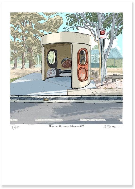 Image of Heagney Crescent, Gilmore digital print
