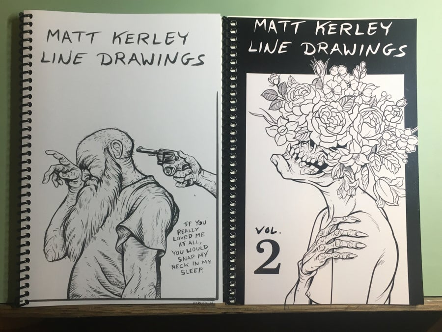 Image of Line Drawing Books vol 1 & 2