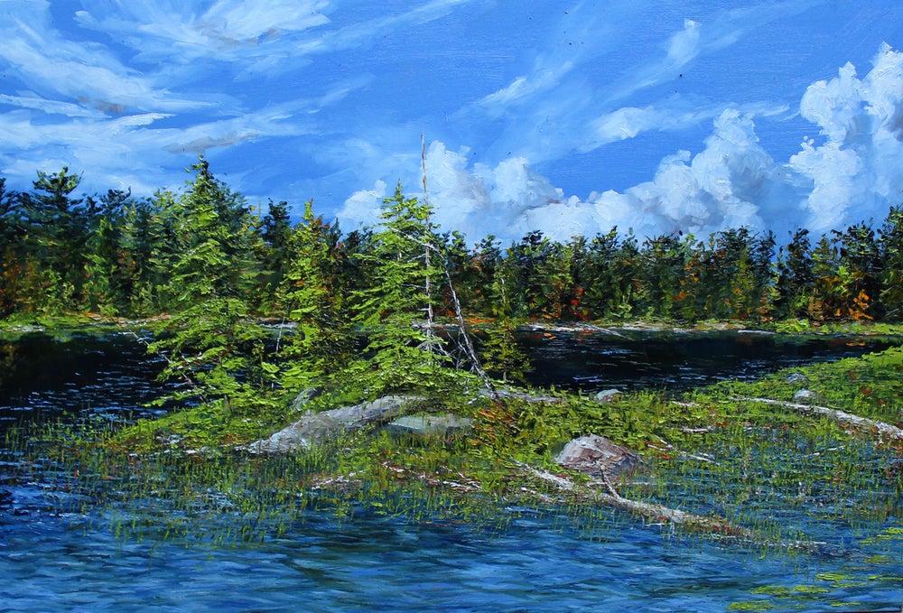 Image of - Peck Lake -