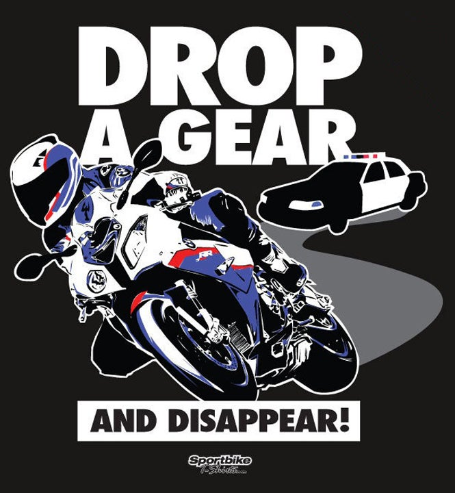Drop A Gear T Shirt Sportbike T Shirts Store