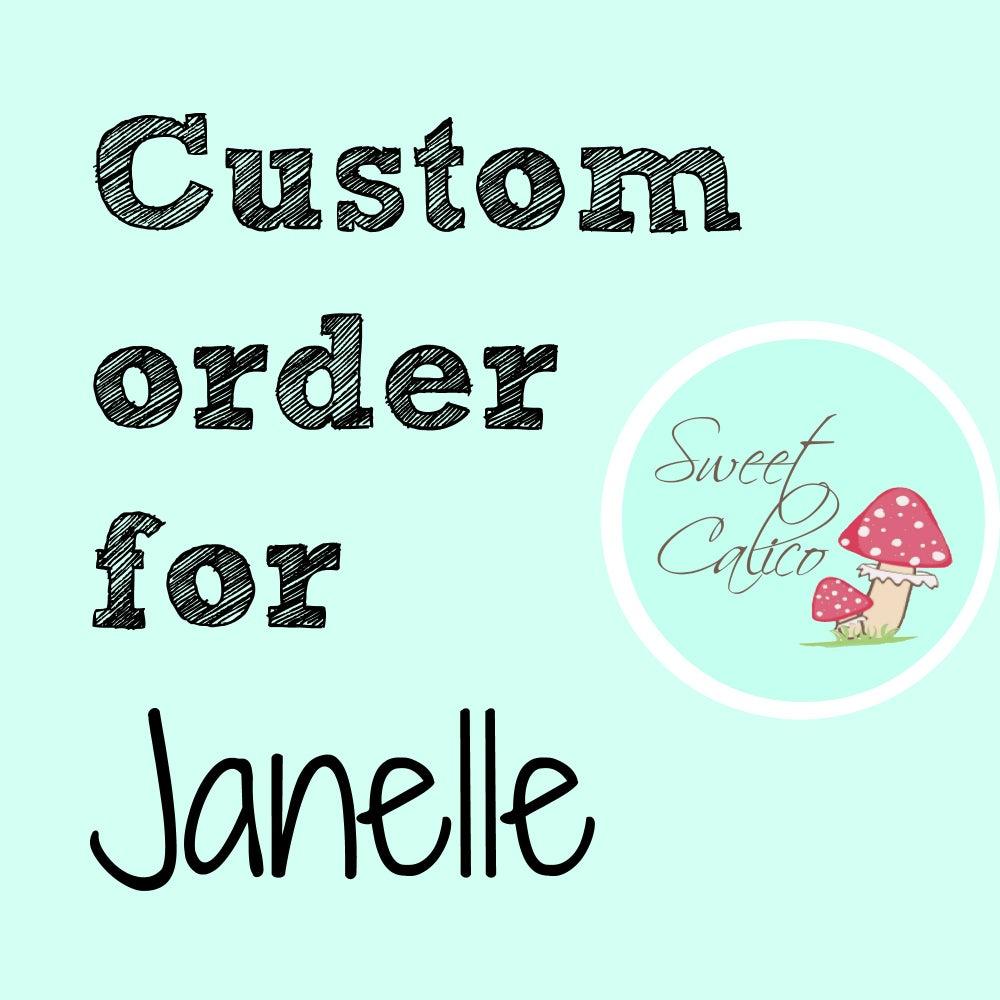 Image of Custom order for Janelle