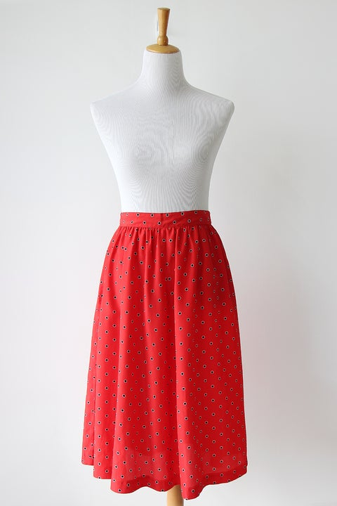 Image of SOLD Ladybug Never Changes Its Spots Skirt
