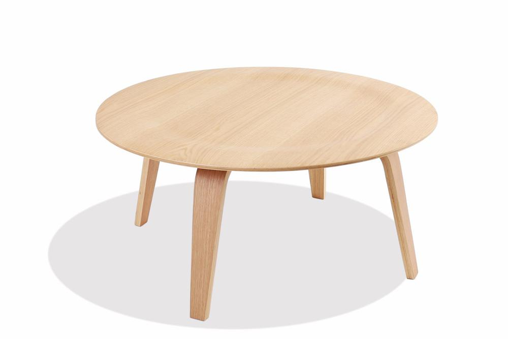 Image Of Plywood Coffee Table   White Oak ...