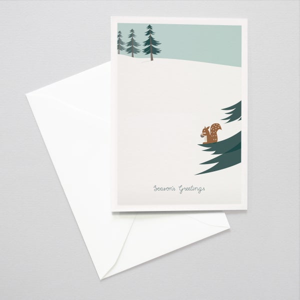 Image of Firs Holiday Card