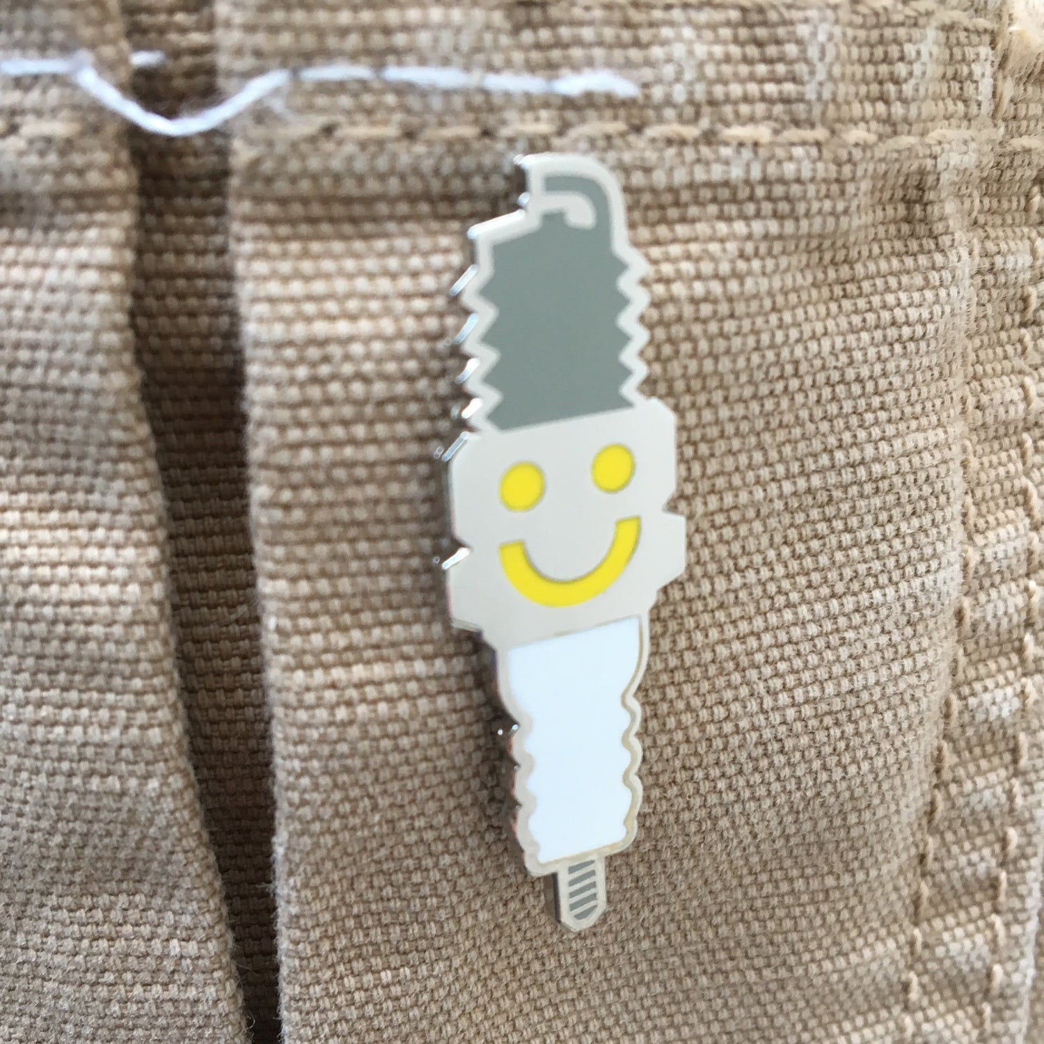 Image of Sparky Pin Badge