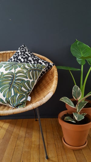 Image of Coussin Monstera