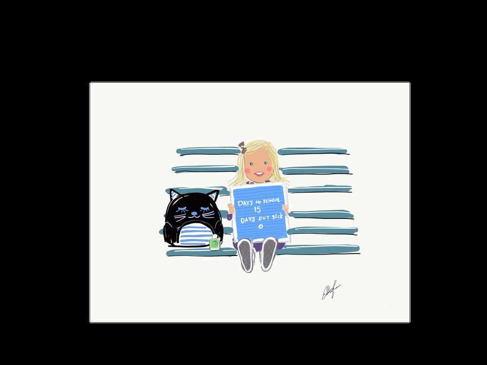Image of Custom digital illustration