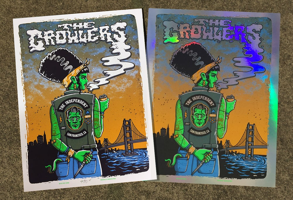 Image of The Growlers @ The Independent, SF - 2017 & variants