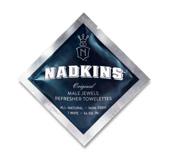 Image of Nadkins 10-Pack (Male Jewels refresher towelettes)