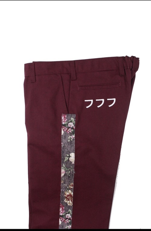 Image of 777 PANTS (REDWINE)