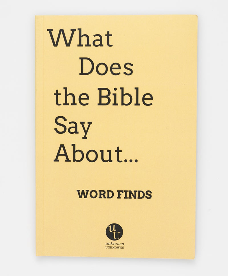 Image of What Does the Bible Say About Word Finds