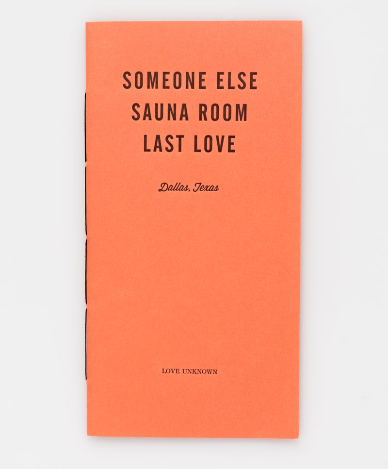Image of Someone Else, Sauna Room, Last Love