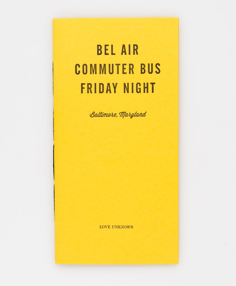 Image of Bel Air, Commuter Bus, Friday Night