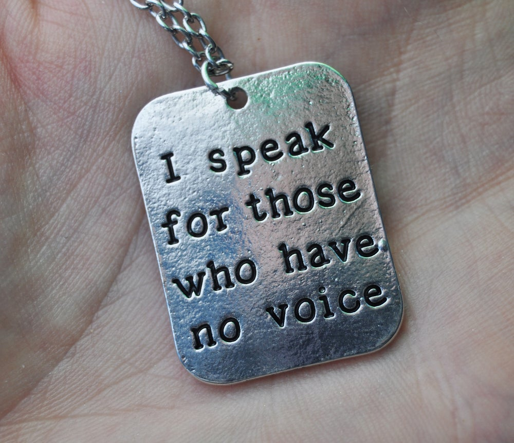 Image of ISFTWHNV NECKLACE