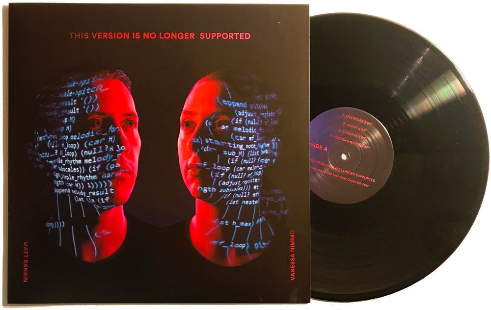Image of This Version Is No Longer Supported (180 gram black vinyl)